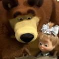 Сувенирные магниты на холодильник: Маша и Медведь, магниты купить.
