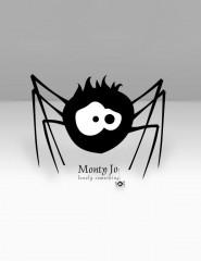 Картинка паучок серый испуганный